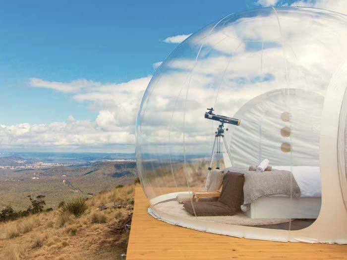Bubbletent-Australie