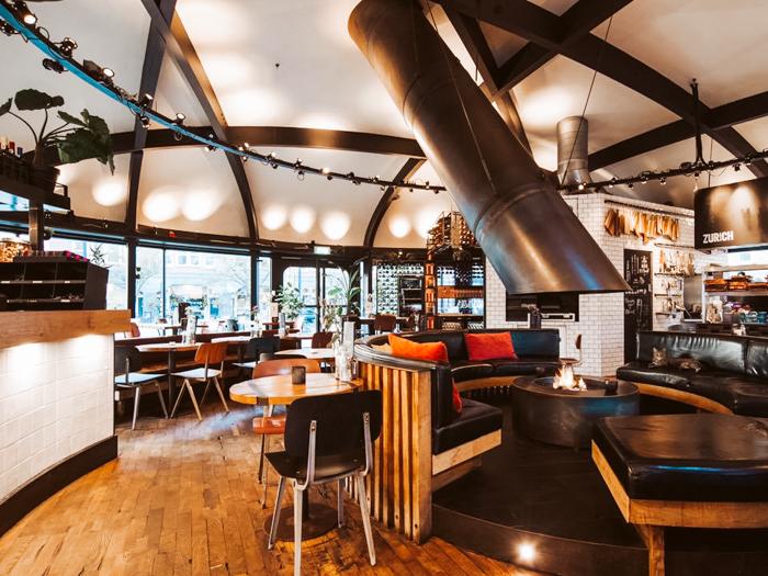 Café. Zurich