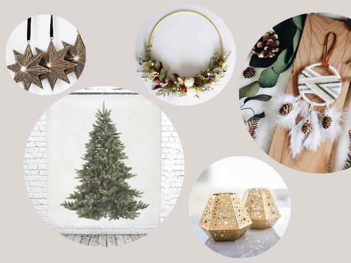 bohemian kerstdecoratie