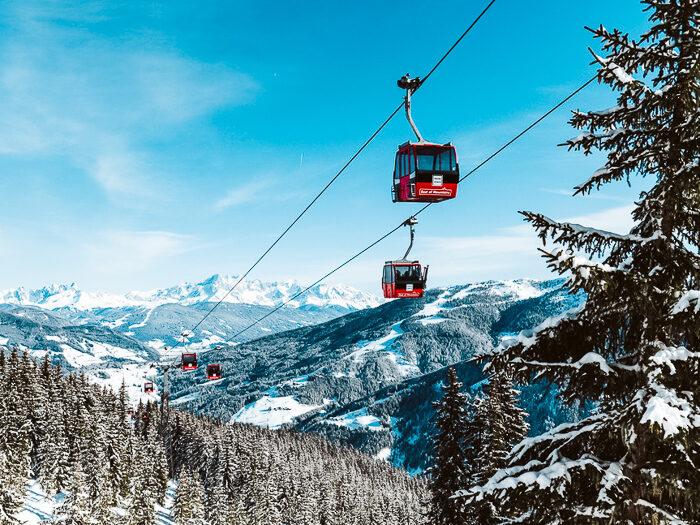 skigebieden salzbugerland oostenriljk