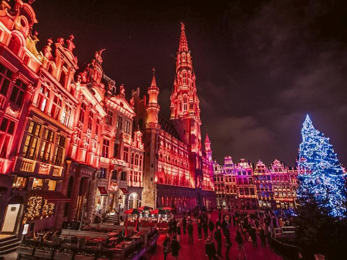 Winterpret Brussel