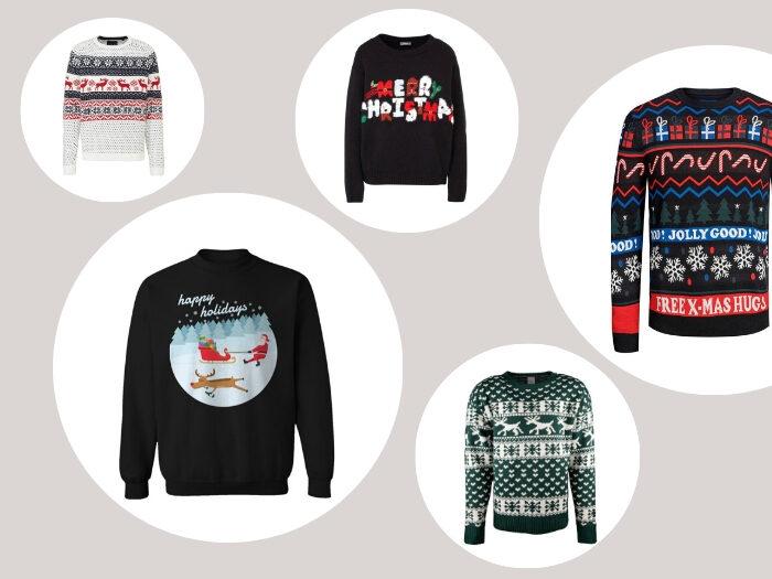 Shopper kersttrui