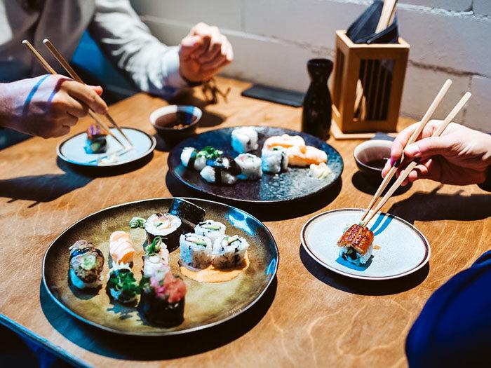 Sushi bij Sushilee Amsterdam