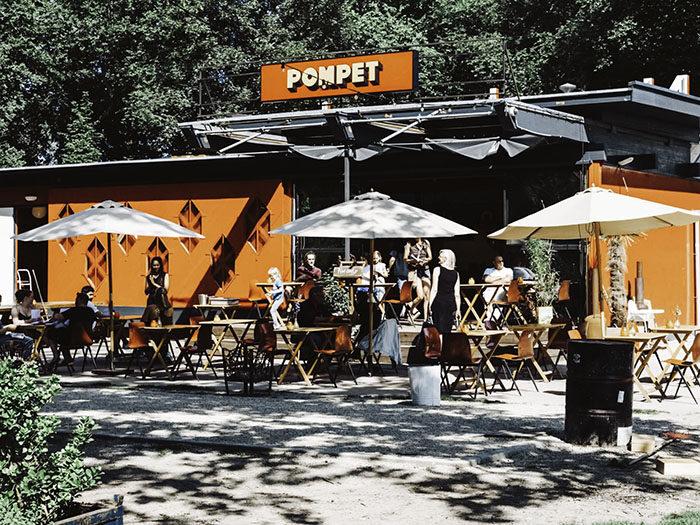 Pompet Amsterdam - restaurants in een groene omgeving
