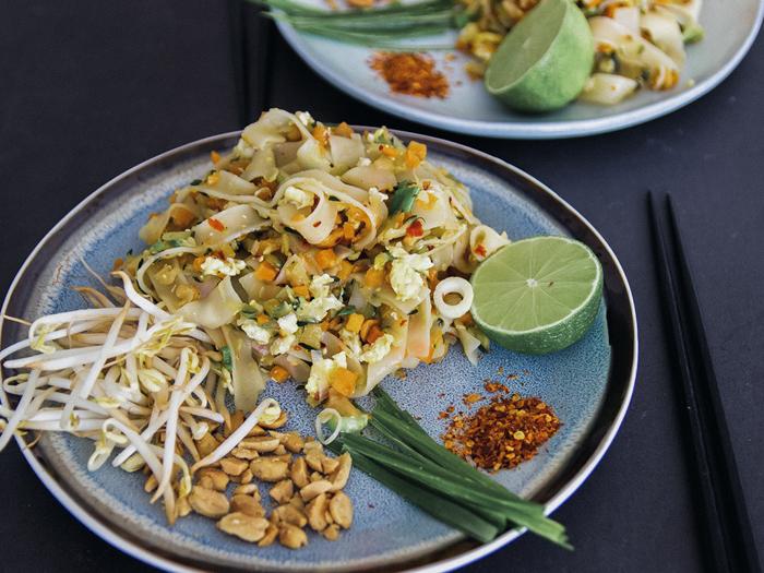 Thaise gerechten pad thai