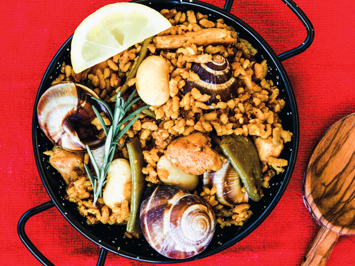 recept paella valenciana
