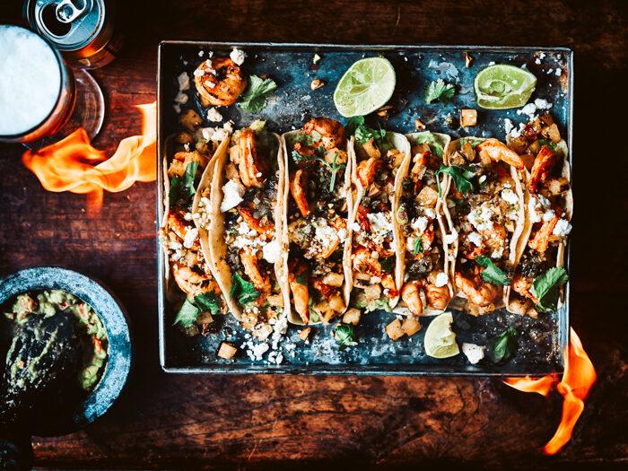 recept tacos shrimp bbq
