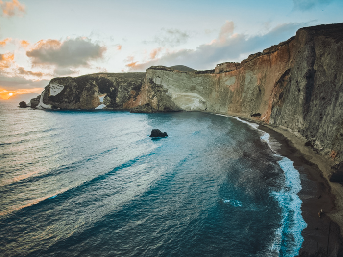 Ponza Italiaanse eilanden