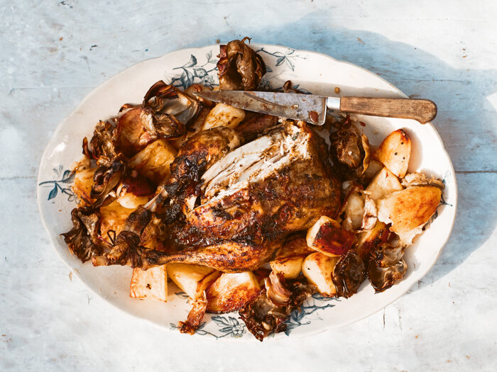 Recept: Kip uit de oven met citroen en koriander, kip recept
