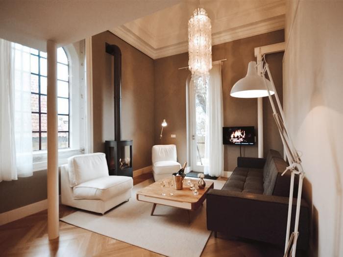 Waddeneilanden Hotel Nobel Design Suites kerk