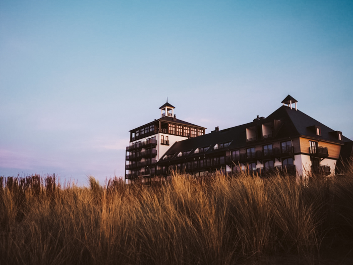 Het Strandhotel Cadzand-Bad