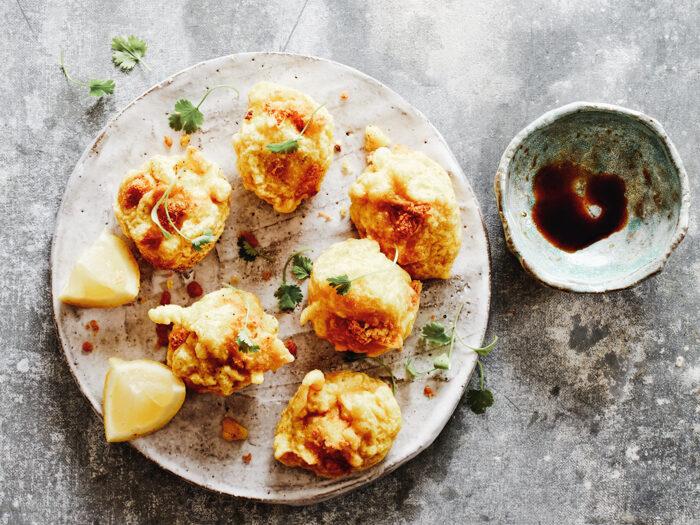 Recept gefrituurde hummushapjes