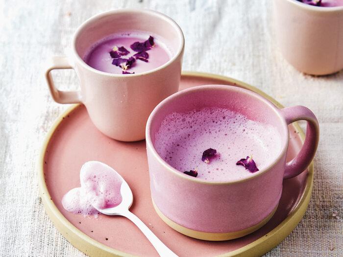 Recept rozenkwarts latte