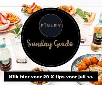 Fïnley Sunday Guide: 29 X tips voor iedere zondag in juli
