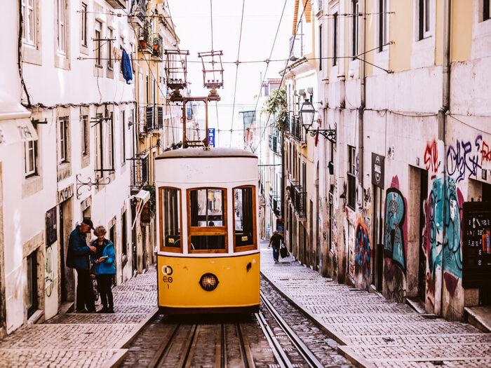 hotspot in Lissabon