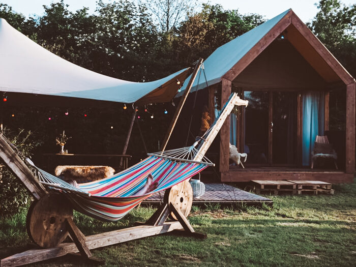for-rest glamping pop-up camping