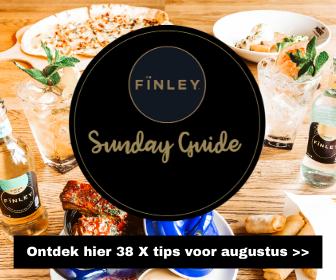Fïnley Sunday Guide: 38 X tips voor iedere zondag in augustus