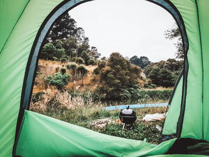 Camping at Olof's amsterdam