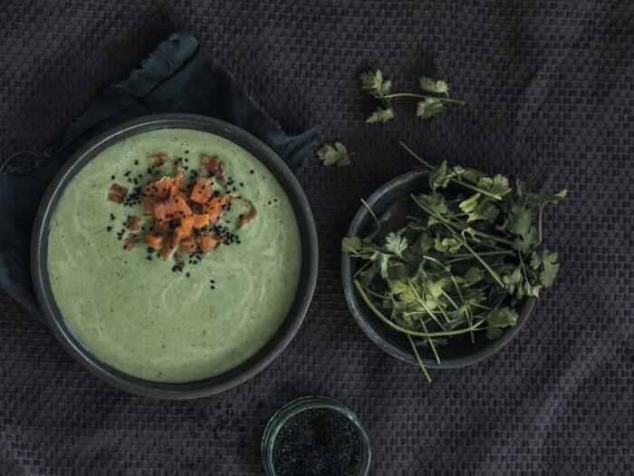 Recept spinazie kokossoep