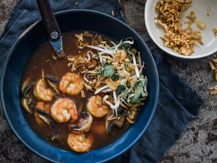 Recept vis Thaise tom yam kung