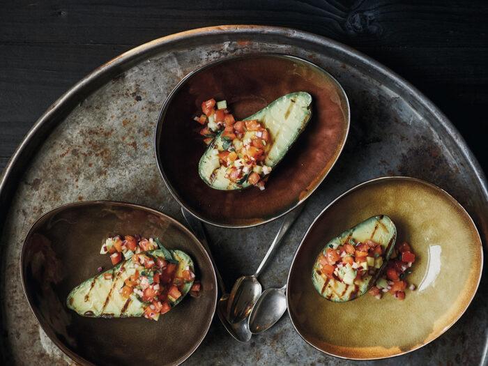 Recept Gegrilde avocado