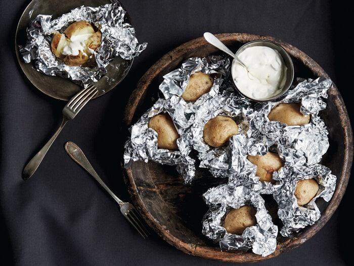 Recept gepofte aardappel