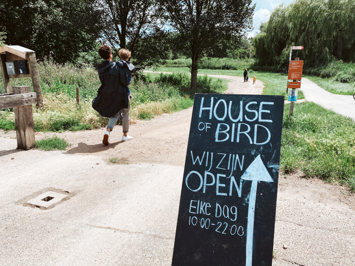 House of Bird Amsterdam Diemen Diemerbos