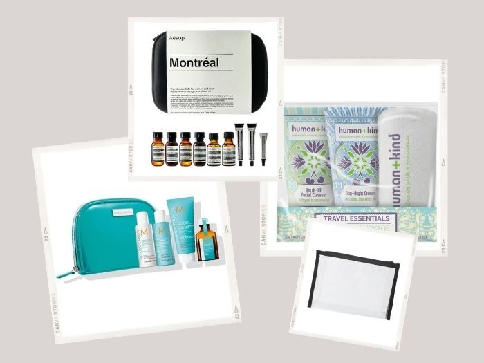 beauty travel kits