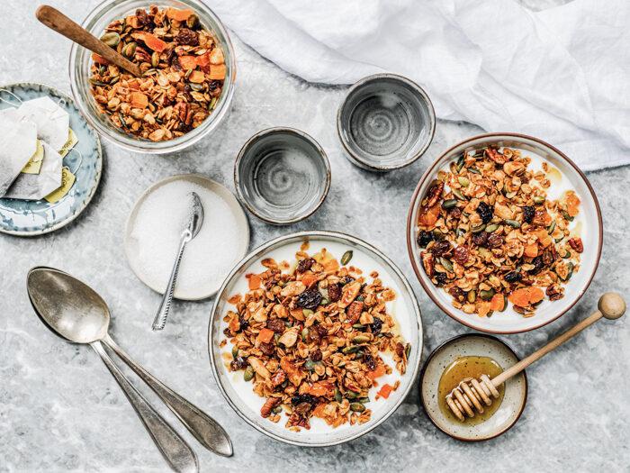 Recept Granola