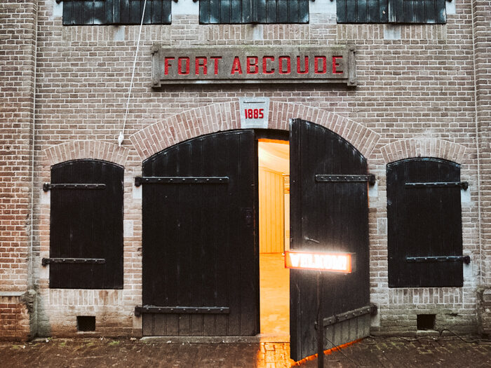 fort abcoude pop-up restaurant