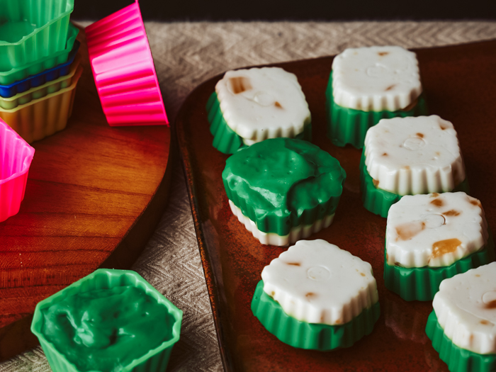 recept pandan kokos pudding
