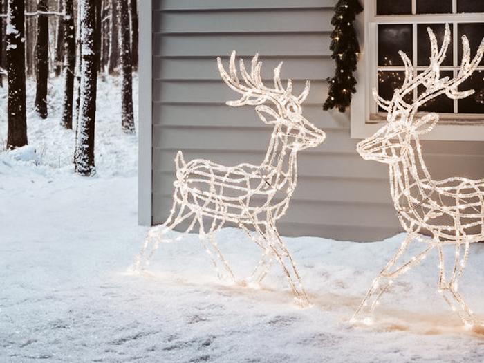 rendier kerstverlichting led lichtfiguur