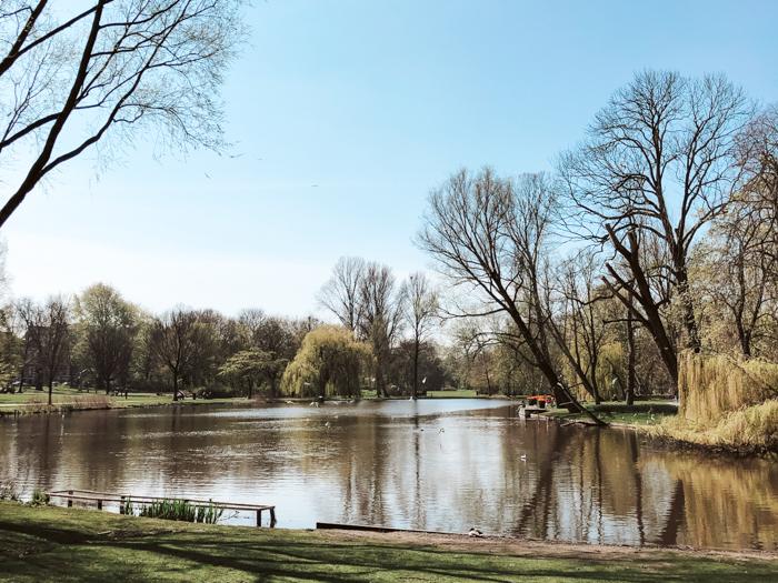 oosterpark wandeling amsterdam