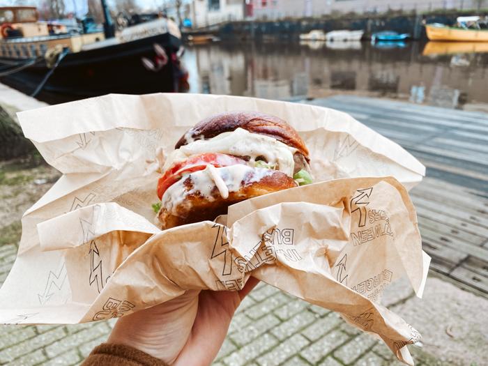 wandeling amsterdam centrum - in between burgers