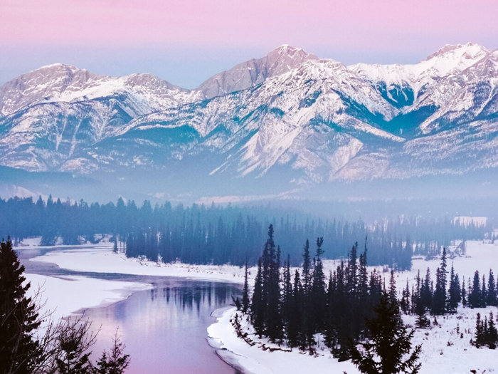 wintersport canada jasper national park