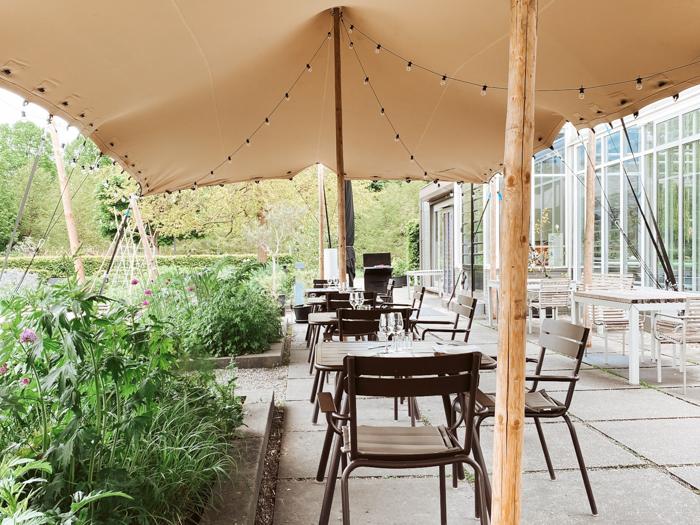 restaurants groene omgeving amsterdam