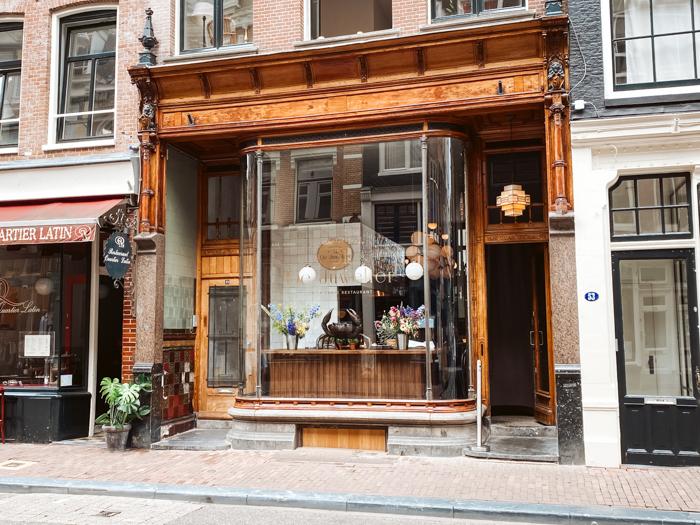 restaurant de juwelier amsterdam