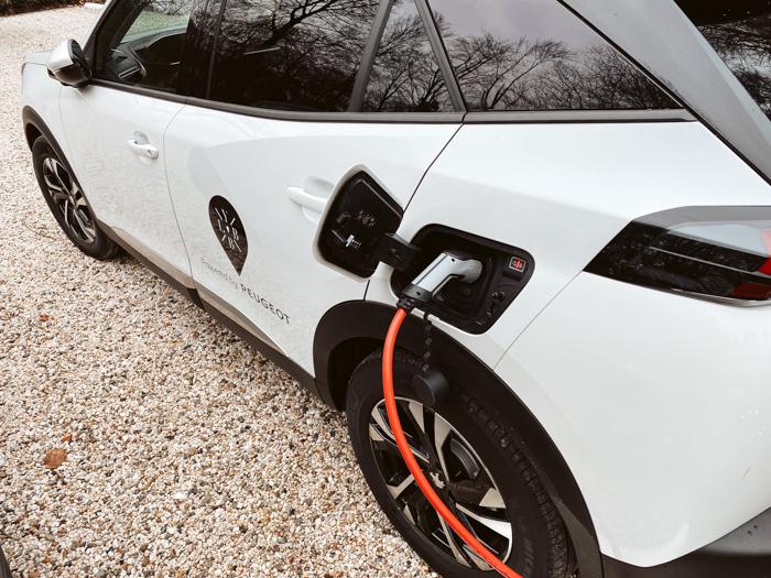 vakantiehuis met laadpaal elektrische auto