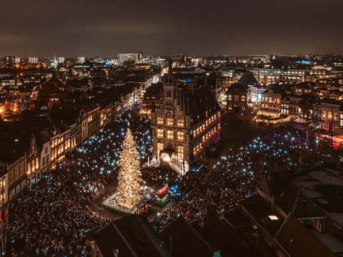 beste lichtfestivals nederland gouda bij kaarslicht