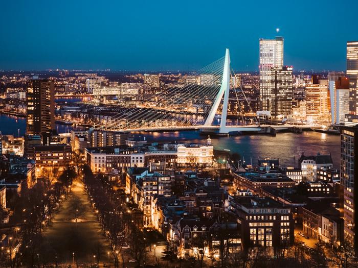 beste lichtfestivals nederland rotterdam night walk