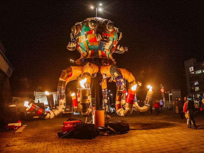 beste lichtfestivals nederland Scheveningen light walk